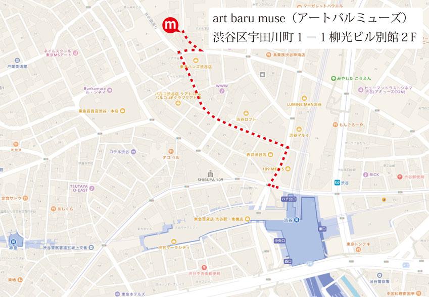 アートバルミューズ地図