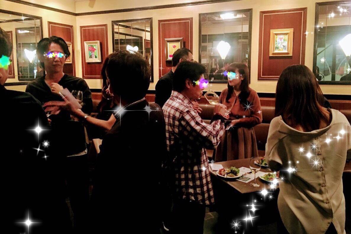 10月13日(土)ワインパーティの様子