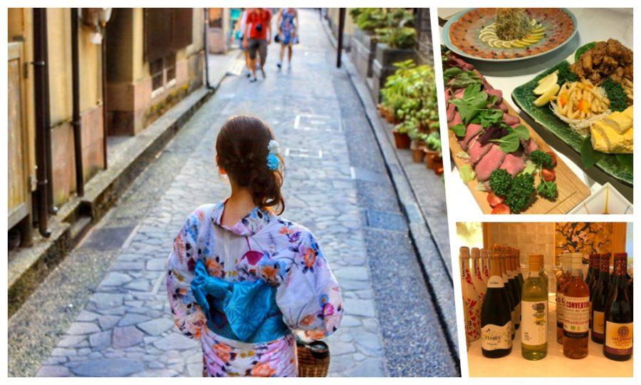 9月11日(土)14:45~独身限定!「浴衣と和食でワイン会」in 築地